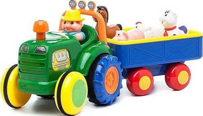Трактор фермера Kiddieland рус озвучка  049726