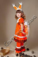 Карнавальный Костюм Белочка (Белка) для девочки, фото 1