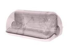 Хлібниця Галицька МІДІ 12-білий мармур 35*27*18,8см