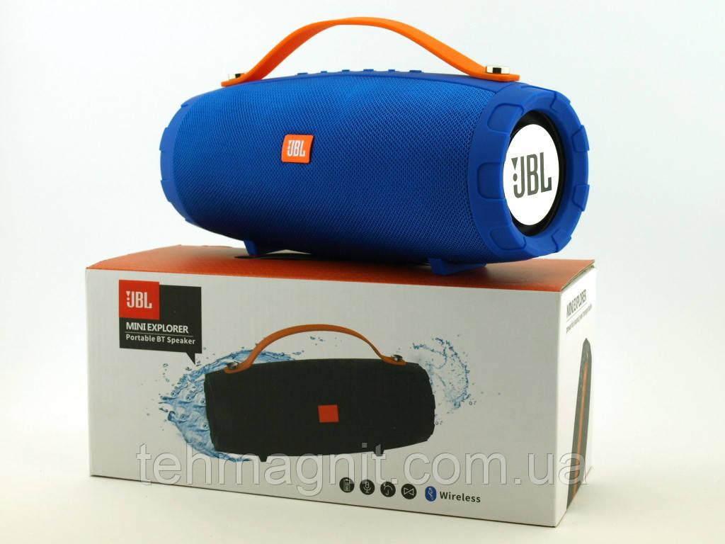 Колонка CY-34 10W Bluetooth і FM MP3, Синя