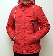 Мужская куртка, красного цвета. Куртка зимняя.ТОП КАЧЕСТВО!!!, фото 1