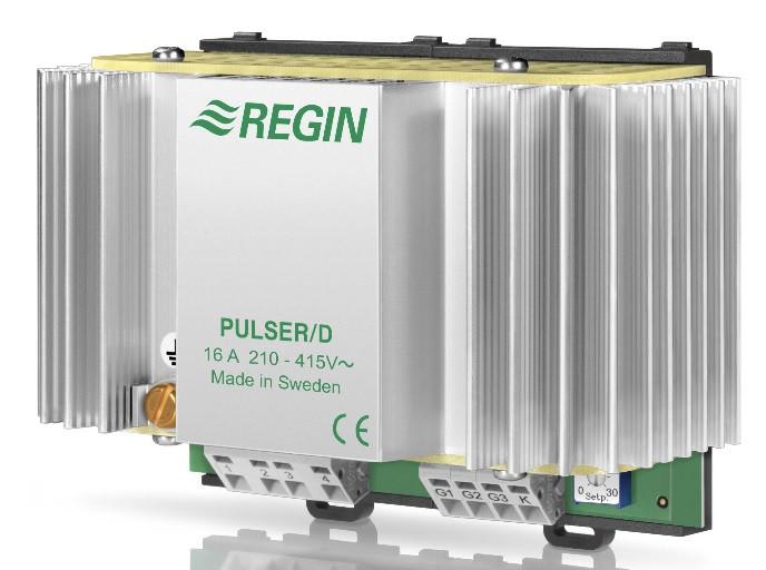PULSER/D - симисторный регулятор мощности на DIN-рейку для электрокалорифера