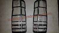 Хром накладки на задние стопы для Mercedes Sprinter 906 2006-2013