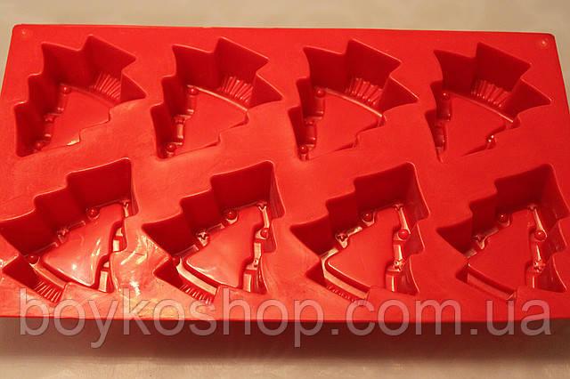 Форма силиконовая 6 елок