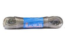 Шнур для білизни №3-2-10М металопластик  2,0мм*10м.