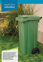 Пластиковий контейнер для відходів 240 л