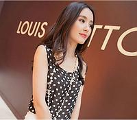 Хит продаж! Модная женская шифоновая блузка без рукавов, майка, летняя блузка с принтом, свободный покрой