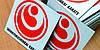 Виниловый магнит с фотографией, логотипом