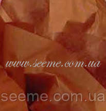 Бумага тишью, Raw Sienna, 1 лист