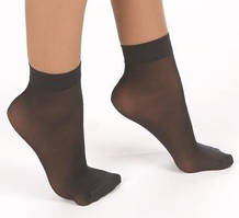 Носки капроновые черные 10пар / уп