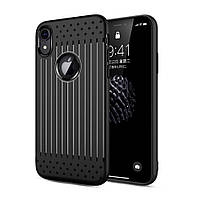 Чехол накладка Primo Shell TPU для Apple iPhone XR - Black, фото 1