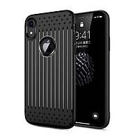 Чехол накладка Primo Shell TPU для Apple iPhone XR - Black, фото 1