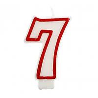 Свічка цифра 7