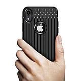 Чехол накладка Primo Shell TPU для Apple iPhone XR - Black, фото 3