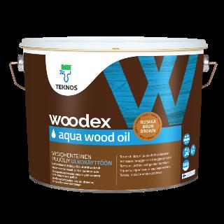 """Масло д/дерева """"Вудекс Вуд"""" (Woodex wood oil) для наружных поверхностей """"Teknos"""""""