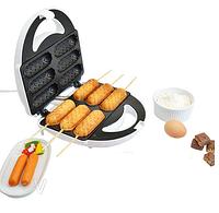 Вафельница-сосисочниця (аппарат для хот-догов) LSU-1215