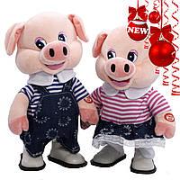 Детская мягкая игрушка, свинка интерактивная, фото 1