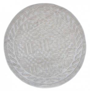 Килимок у ванну круглий 120 см Berceste Бежевий Arya AR-1380026-bej
