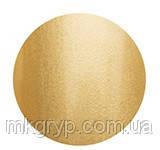 Гель лак Salon Professional № 123 золотистый с микроблеском