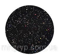 Гель лак Salon Professional № 138 черный с разноцветными блестками