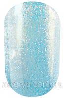 Гель лак Salon Professional № 152 прозрачный с серебристыми и синими блестками