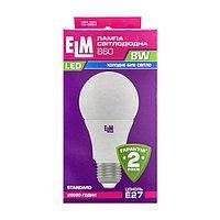 Лампа світлодіодна стандарт ELM 8Вт Е27  3000K 18-0039 (4895127200893)