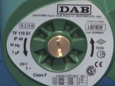 Циркуляционный насос DAB A 110/180 T