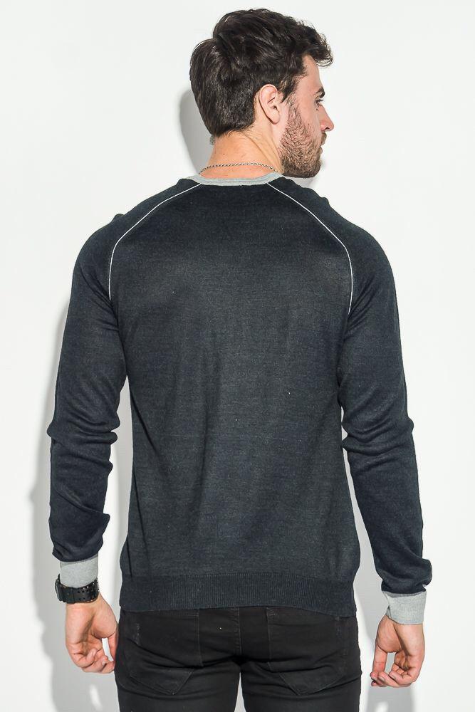 Мужской тонкий свитер WOOLLENART