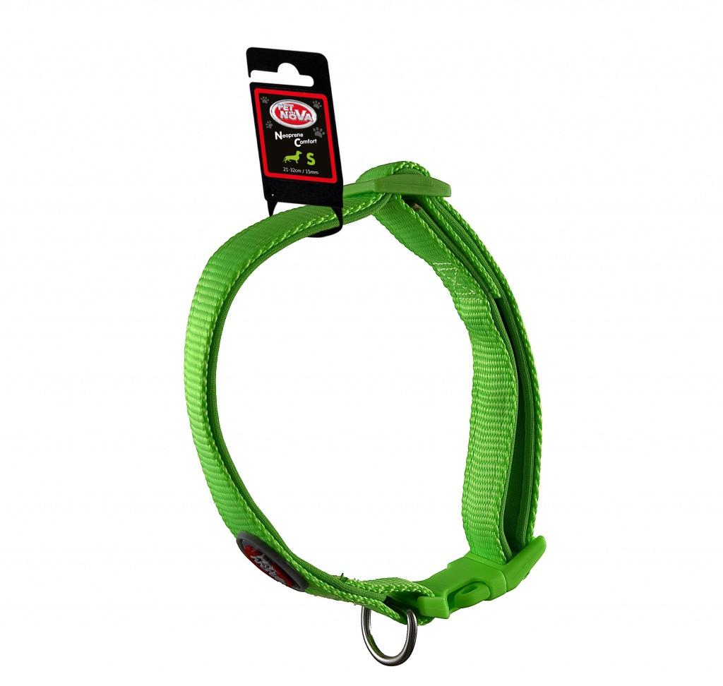 Ошейник Pet Nova Neoprene Comfort Light Green S