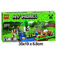 """Конструктор Bela 10175 Minecraft (аналог LEGO 21114) """"Ферма"""", 262 деталей"""