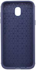 Чохол-накладка Metal для Samsung J330 Galaxy J3 (2017) Силікон Синій(425581), фото 2