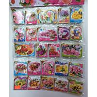 Открытки mini (192шт на картоне) 6208