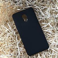 Чехол силиконовый Soft touch для Meizu M6, Black
