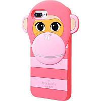 Чехол Резина Kate Spade Monkey для Apple iPhone 7 Plus /8 Plus