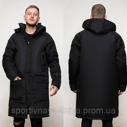 Куртка удлиненная зимняя мужская , фото 2