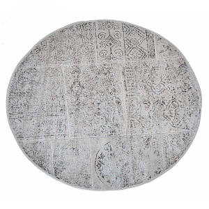 Килимок у ванну круглий 120 см Eskitme Бежевий Arya AR-TR1004842-bej
