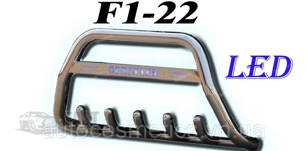Кенгурятник F1-22