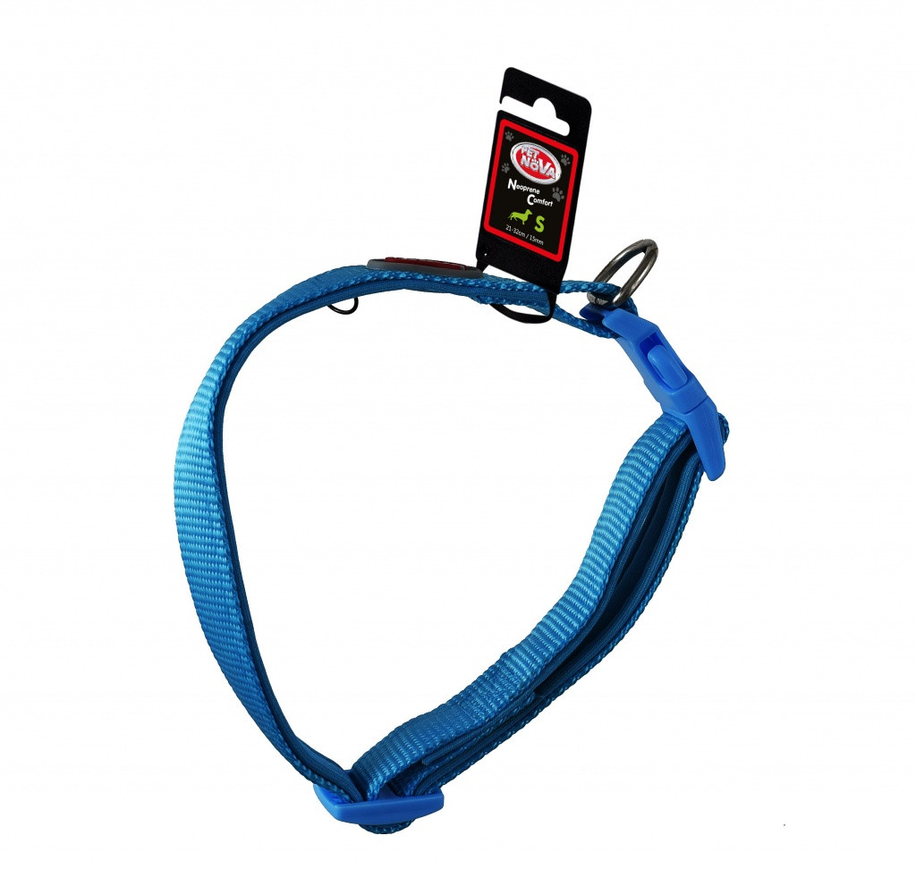 Ошейник Pet Nova Neoprene Comfort Light Blue L