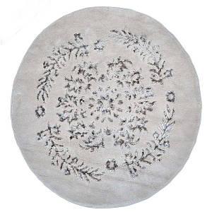 Килимок у ванну круглий 120 см Luxor Бежевий Arya AR-1380062-bej