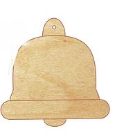 НР Дерев'яна іграшка на ялинку: Дзвіночок  (у)