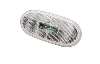 Фонарь боковой (габарит) MB Sprinter/VW Crafter 09- (белый) LED (0038202956)  ROTWEISS