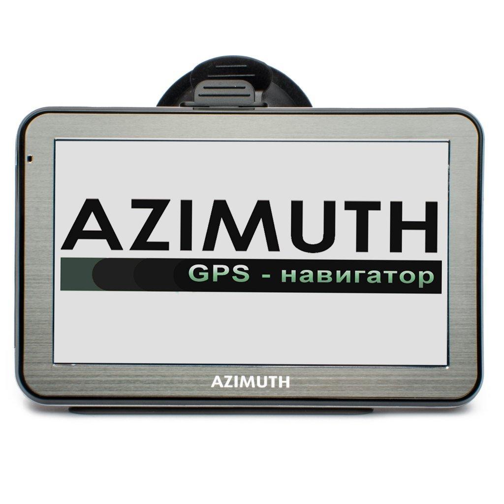 Автомобильный GPS Навигатор Azimuth B55 Plus