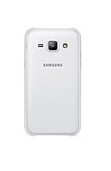 Задняя крышка для Samsung J100H Galaxy J1, белая, оригинал