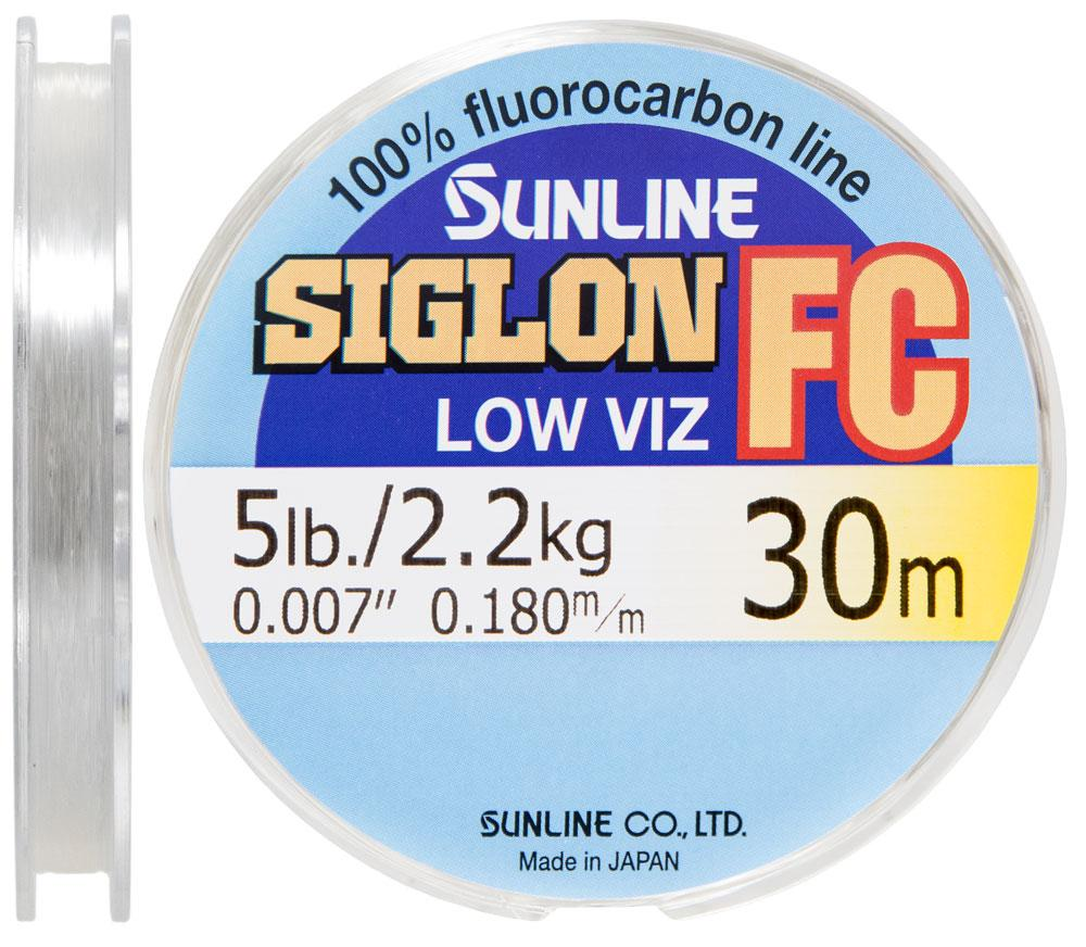 Флюорокарбон Sunline SIG-FC 30м 0.180мм 2.2кг поводковый