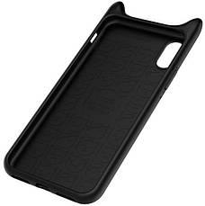 Чехол накладка Baseus для Apple iPhone X Devil Baby ser. Black, фото 3