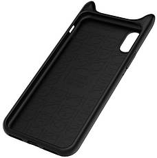 Чохол-накладка Baseus для Apple iPhone X Devil Baby ser. Black, фото 3