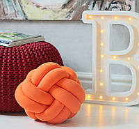 Декоративная подушка УЗЕЛ оранжевый