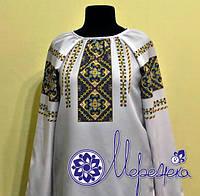 Сшитая заготовка для сорочки под вышивку нитками или бисером