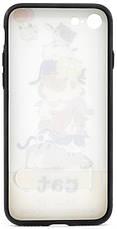 """Чехол накладка YCT для iPhone 7/8 (4.7 """") TPU + PC с тиснением Гора котов, фото 2"""