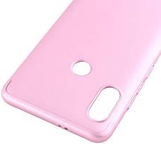 Чехол 360 ° LikGus для Xiaomi Redmi Note 5 Pro / Note 5360 ° Розовое золото (439342), фото 2